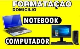 Formatação profissional com técnico em informática experiente