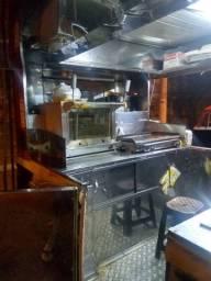 Kombi food truck treiller