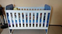 Berço e colchão infantil Novo