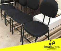 Cadeira fixa de escritório super conservada de 79,99 por 59,99