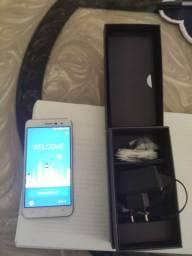 Smartphone Asus Zenfone 3 branco/prata