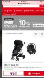 Carrinho bebê e bebe conforto dzieco