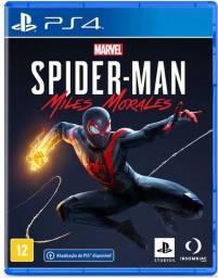 Homen Aranha Marvel's Spiderman Miles Morales Ps4 Física
