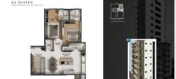 Título do anúncio: Apto com 2 dormitórios e 2 suítes no centro de Chapecó