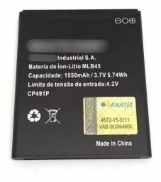 Bateria Multilaser Ms45 Ms45s 1550mah Mlb45 Cp491p