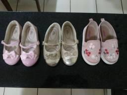 Sapatilhas e Alpargata infantil (pacote ou avulso)