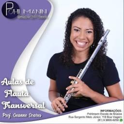 Aulas de Flauta Transversal e Doce Individuais (Presencial/Online)