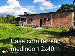 Casa muito boa com terreno 12x40m, no P. Paranhos, Piabetá, Doc ok, R$ 60.000
