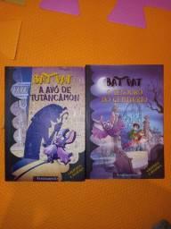 2 livros Bat Pat da editora Fundamento
