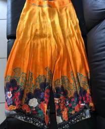 calça pantacourt dress too