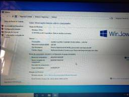 Notebook i7, 8gb ram,  ssd 128gb 100%