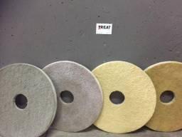Discos para polimento de pisos em marmore, porcelanato, granito, granilite