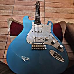 Guitarra Strato Blue Luthier RO Custom Suhr