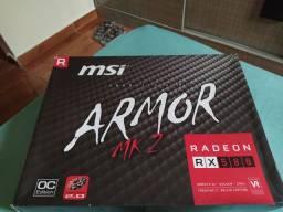 Radeon RX 580 8GB (Leia Descrição!)
