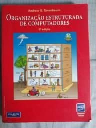 Livro Organização estruturada de computadores - Ótimo estado de conservação