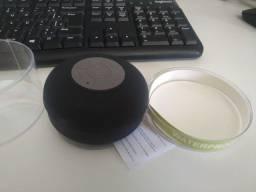 Caixa Som Banheiro Prova Dágua Bluetooth