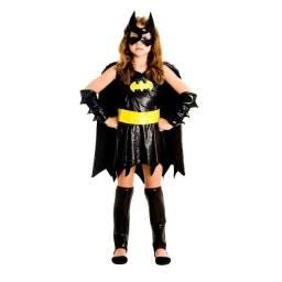 Fantasia Batgirl Infantil Luxo - Liga Da Justiça