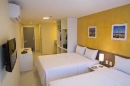 Apart Hotel Soft inn 1 quarto suíte mobiliado