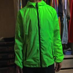 Jaqueta Verde Neon