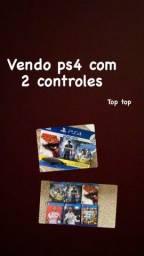 PS4, 500GB, 2 CONTROLES