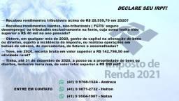 Imposto de Renda (pessoa física - IRPF) + Declaração Anual do Simples Nacional (DASN)