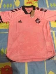 Camisa internacional (outubro rosa)