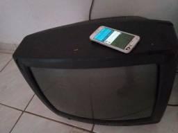 Vendo ou troco tv+celular+ff