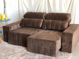 Título do anúncio: Sofa retrátil reclinavel