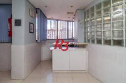 Sala, 72 m² - venda ou aluguel - Boqueirão - Santos/SP