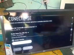 Televisão smart 32 polegadas LG comprada hoje