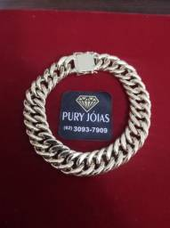 Correntes, Pulseiras, Bracelete, Pingente Ouro 18
