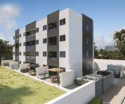 Apartamento em Cabedelo com 2 quartos um , acabamento de alta qualidade.