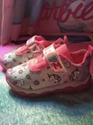 Sapatos novo uso so uma vez