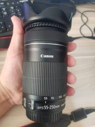 Canon SL1 (100D) + 18-55mm + 55-250mm Perfeita