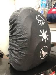 Título do anúncio: Capa de chuva para mochila - Nova