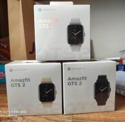 Relógio Smartwatch Xiaomi Amazfit GTS 2 A1969 - Preto/Cinza/Dourado