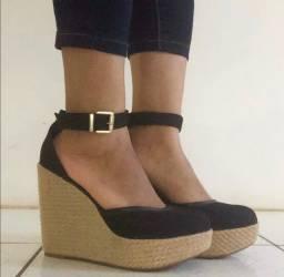 Sapato - Salto Alto sandália Moleca