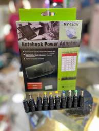 Carregador notebook 8 x plugs