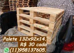 Palete de madeira 132x92 entrego