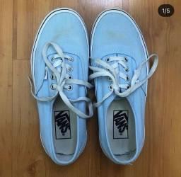 Tênis Vans Original Azul Pastel