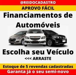 Rei do cadastro Financiamentos, Aprovo Fácil, escolha o veículo e faça já o seu cadastro