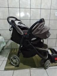 Carrinho e bebê conforto Graco aire 3