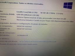 NOTEBOOK HP CORE I3 4GB 500GB HD