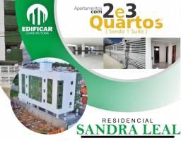 Título do anúncio: Apartamento 2 e 3 Quartos, no Luiz Gonzaga, Pelo Minha Casa Minha Vida, Res. Sandra Leal