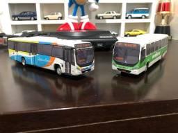 Ônibus miniaturas Marcopolo Torino