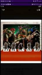Kit Festa Tartarugas Ninja completo