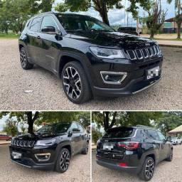 Jeep Compass Limited 2.0 Flex automática 2019 22 mil kms (a mais barata anunciada)
