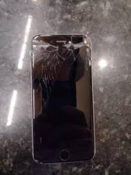 Iphone 6s ( tela quebrada e funciona tudo)