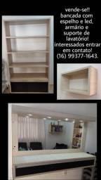 Vende se móveis para salão de beleza