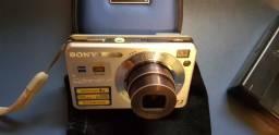 Câmera Digital Sony Dsc-w120 7,2 Cybershot 1080hd- Semi Nova